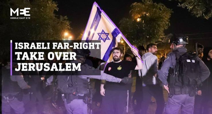 "Jerusalem Pogrom: Extremist Jewish Mobs injure 100 Palestinians, chanting ""Death to Arabs"""