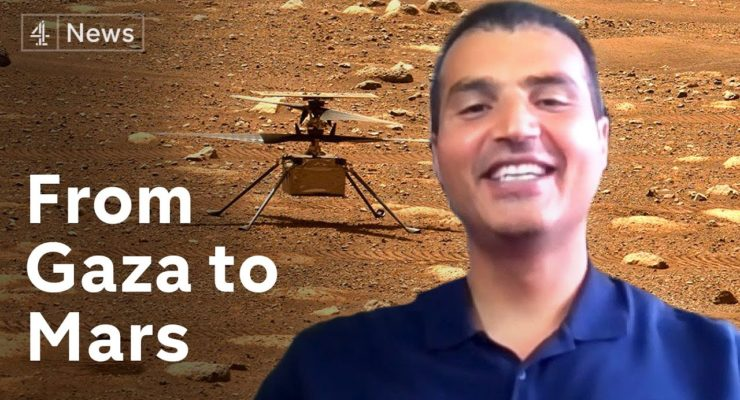 Palestinian NASA Scientist Elbasyouni: Easier to Fly a Helicopter on Mars than to Visit Home in Gaza