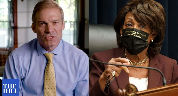 Science also Wants Jim Jordan to Shut his Mouth– it isn't Just Rep. Maxine Waters