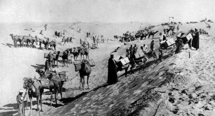 Suez canal: what the 'ditch' meant to the British empire in the 19th century