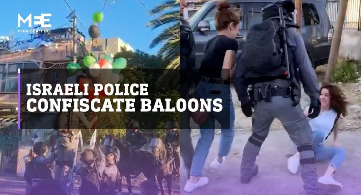 Danger of Excessive Force by Israeli Security against Israelis of Palestinian Heritage in Mixed Cities