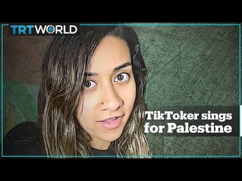 Eman Askar's TikTok deep-history 'Song for Palestine' goes Viral with 10 mn Views in 48 Hours