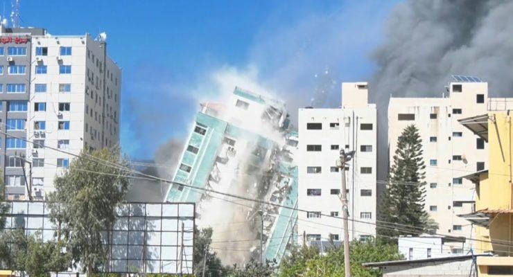 """Making the enemy blind"": Did Israeli AF destroy Highrise housing AP and Al-Jazeera to Hide War Crimes?"