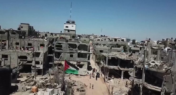 Mideast Sisyphus: In Aftermath of Brutal Israeli Bombing, Palestinians in Gaza are Thirsty, in the Dark, and lack Medicine, and Thousands are Homeless