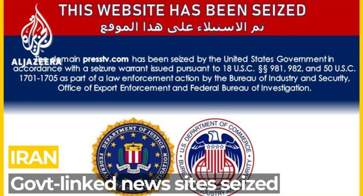 America wants to be known in Mideast as Champion of Free Speech, so Why is it Censoring Iranian Websites?