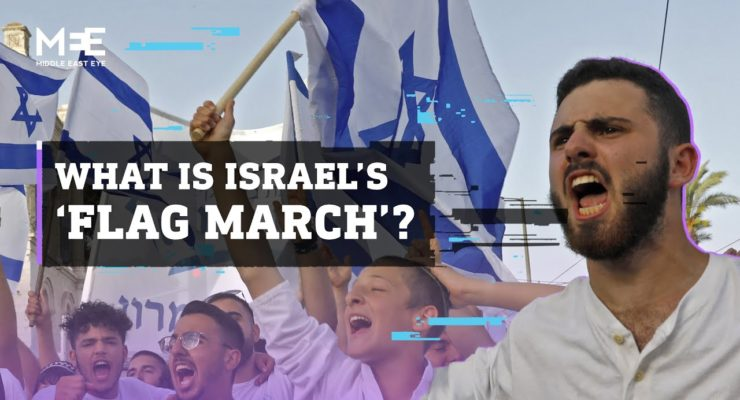 """Imagine Thousands of Bigots Marching through Jewish Neighborhood chanting """"Death to Jews"""" with Police, Political Support; Now substitute """"Palestinians"""" for Jews"""