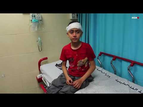 Israel's damage of the healthcare system in the Gaza Strip