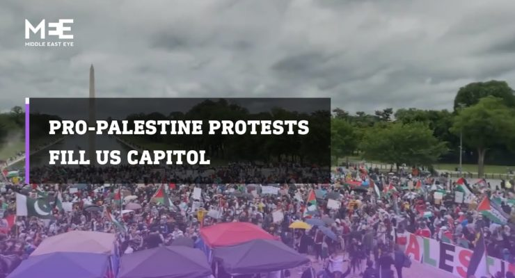 This time, Palestine Solidarity Swept the U.S.