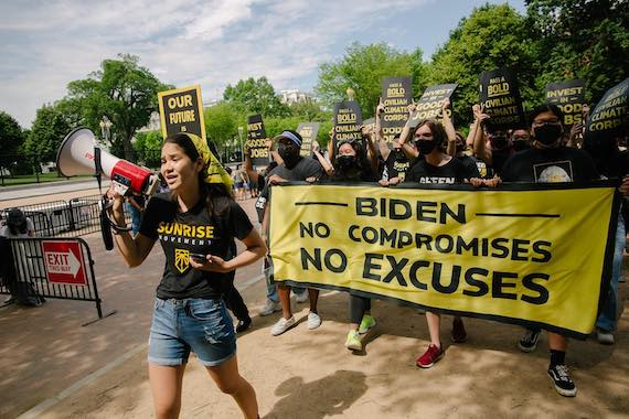 As Biden backslides, a bigger, better-organized climate movement prepares to seize this 'now or never' moment