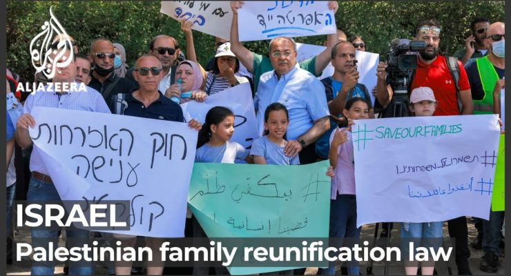 """""""Chaos"""" in Israeli Parliament over Apartheid-style Law against Family Unification for Palestinian-Israelis"""