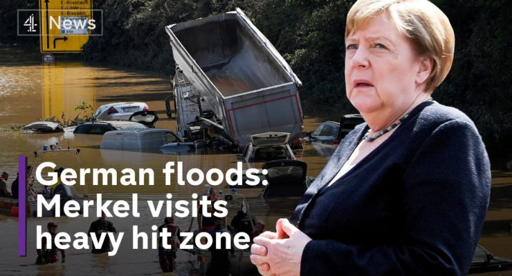 Climate activists demand faster energy transition after flood disaster hits Germany