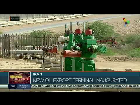 Iran opens new Oil Port on Gulf of Oman to avoid narrow Straits of Hormuz and to Avoid US Sanctions