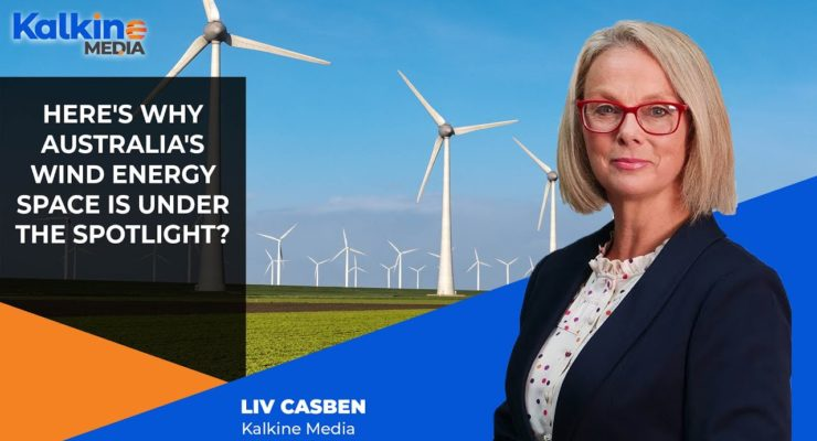 Wind turbines off the coast could help Australia become an energy superpower, research finds
