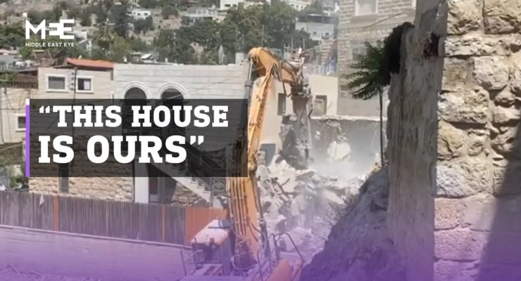 77% of the residents of the Israeli-Occupied Old City in Jerusalem are Muslims, But for How Long as Israelis demolish Silwan Homes?
