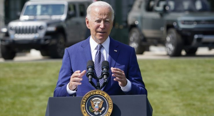 """Biden's Moonshot:  America's Cars are going Electric, """"Fast!"""" with Union Labor"""