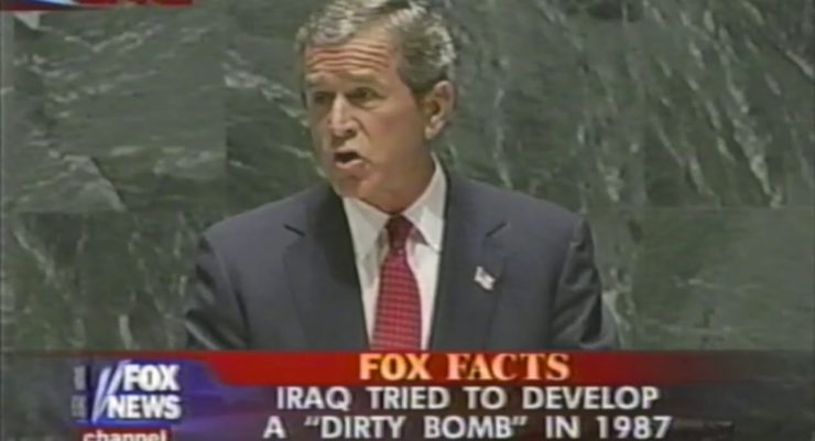 As Biden prepares to declare US 20-year War over at U.N., Remembering the Bush Lies that Started it all