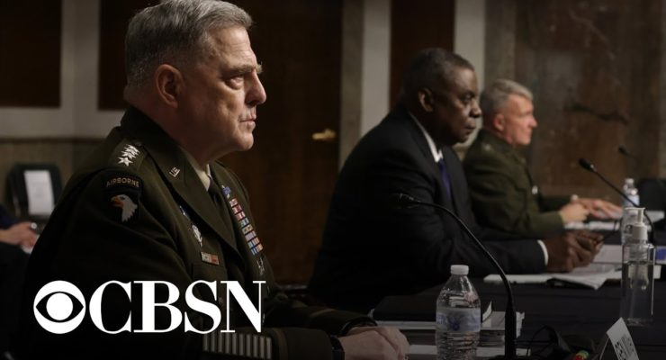 Generals on Afghanistan: Yes, Trump is Largely Responsible for Chaos