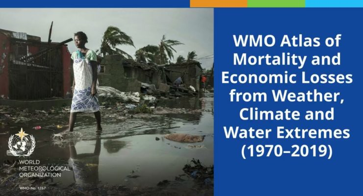 UN: Climate-Driven Extreme Weather Disasters since 1970 increased 5-Fold, costing Trillions