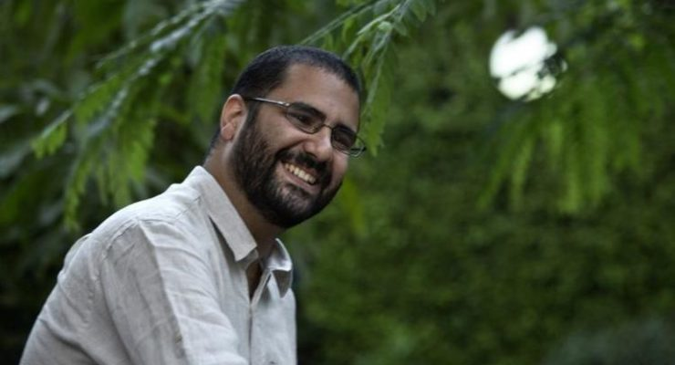 Demands for Egypt's U.S.-backed Egyptian Strongman al-Sisi to Release Activist Alaa Abd El Fattah, detained for 2 Years without Charge