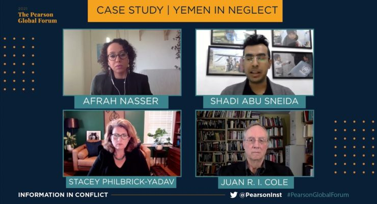A Yemen Catastrophe that America helped Make (Pearson Inst. Video with Juan Cole)