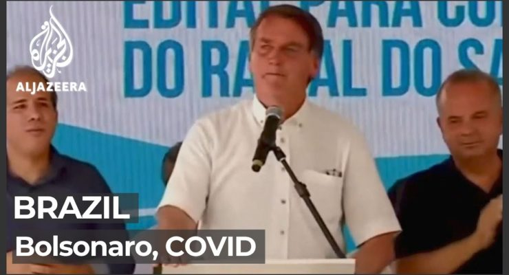 Brazilian Senate Panel urges Pres. Bolsonaro be Charged with Crimes against Humanity for killing 150K by worsening Pandemic