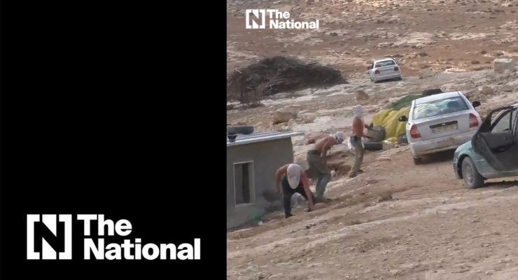 Israel has a 'hands-off' approach with illegal Israeli squatters, but not with the Palestinians