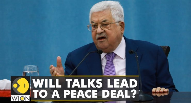 No Apartheid here:  Now Even Meretz Party just Meeting Palestinian Pres. Mahmoud Abbas shakes Israeli Coalition